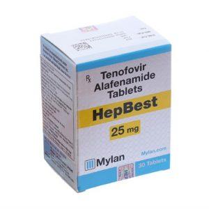 Thuốc Hepbest 25mg được cấp phép lưu hành mới năm 2019