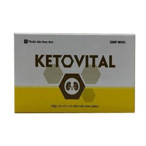 Thuốc đạm thận Ketovital