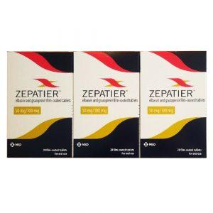 Thuốc Zepatier (Elbasvir và grazoprevir )