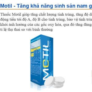 Thuốc Motil giá bao nhiêu?