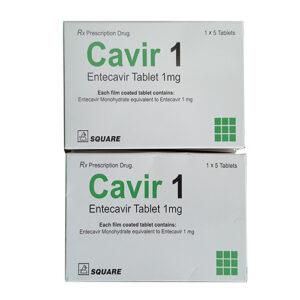 Thuốc cavir 1mg giá bao nhiêu?