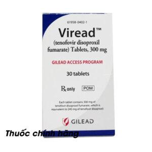 Thuốc Viread giá bao nhiêu?