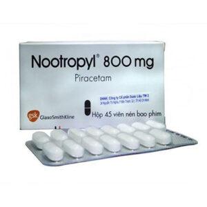 Thuốc Nootropil 800mg cải thiện trí nhớ
