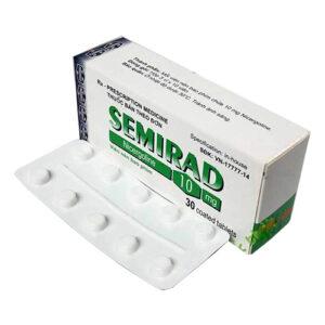 Thuốc Semirad 10mg – Nicergoline 10mg