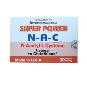 Thuốc Super power N-A-C – N-Acetyl-L-Cysteine điều trị bệnh gan