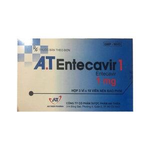 Thuốc AT Entercavir – Entecavir 0,5mg điều trị viêm gan B