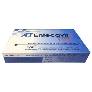 Thuốc AT Entercavir có tác dụng gì?