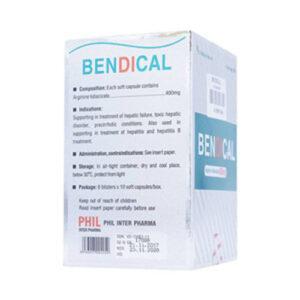 Thuốc Bendical có tác dụng gì?