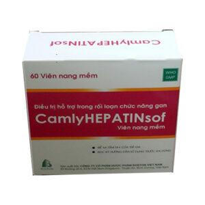 Thuốc Camlyhepatinsof điều trị bệnh gan cấp tính