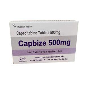 Thuốc Capbize 500mg điều trị ung thư