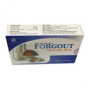 Thuốc Forgout có tác dụng gì?
