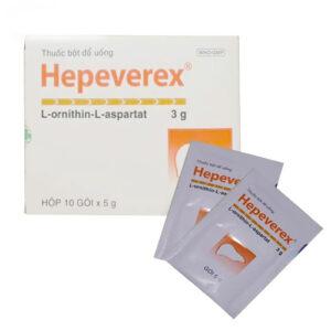 Thuốc Hepeverex bổ gan