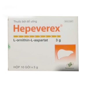 Thuốc Hepeverex giá bao nhiêu?