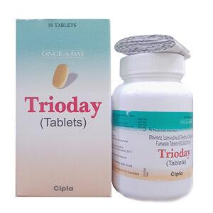 Thuốc Trioday hỗ trợ điều trị HIV