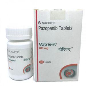 Thuốc Votrient giá bao nhiêu?