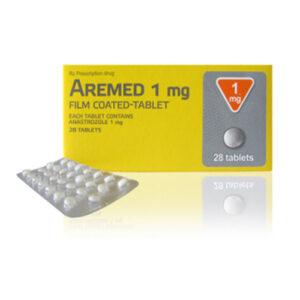 Thuốc Aremed 1mg – Anastrozole 1mg điều trị ung thư vú