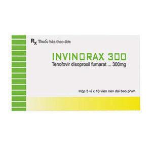 Thuốc Invinorax 300 điều trị viêm gan B