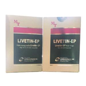 Thuốc Livetin-EP có tác dụng gì?
