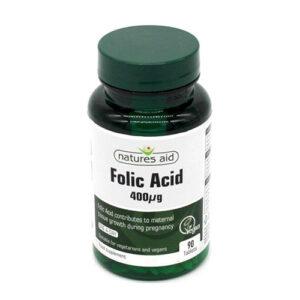 Thuốc Natures Aid Folic Acid 400 giá bao nhiêu?