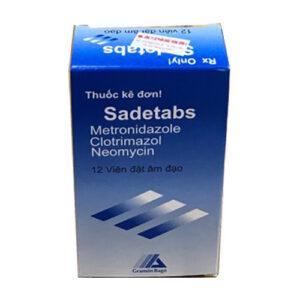 Thuốc đặt Sadetabs