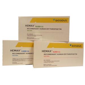 Thuốc Hemax điều trị thiếu máu