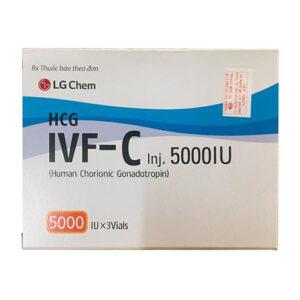 Thuốc IVF C 5000IU có tác dụng gì?