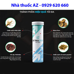 Thuốc Xtrazex có tác dụng gì?