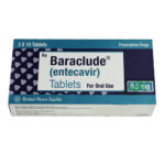 Thuốc Baraclude giá bao nhiêu?