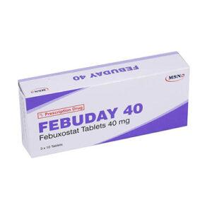Thuốc Febuday 40mg – Febuxostat
