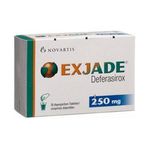 Thuốc Exjade giá bao nhiêu