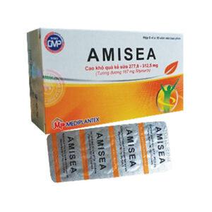 Thuốc Amisea (Silymarin 167mg): Cách dùng, giá bán, mua ở đâu?