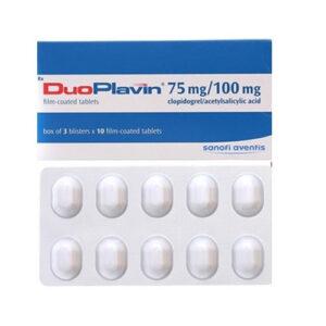 Thuốc DuoPlavin – Clopidogrel 75mg/Acid acetylsalicylic 100mg công dụng, giá bán?