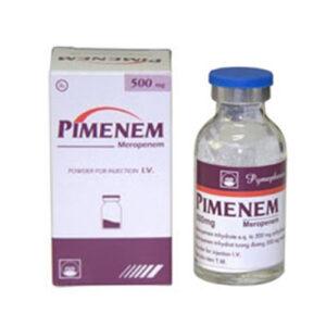 công dụng thuốc pimenem 1g