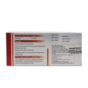 Công dụng thuốc Hepariv 0.5 mg