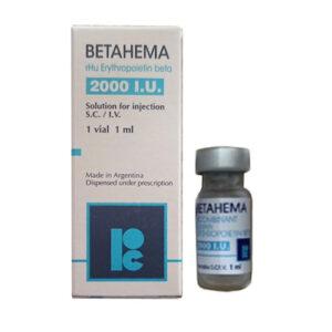 Thuốc Betahema 2000 IU (Erythropoietin) - Giá bán, Mua ở đâu?