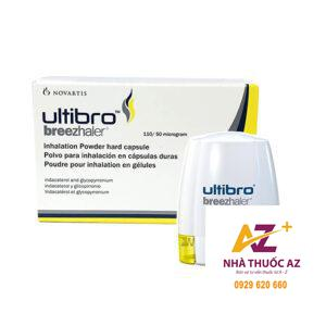Ultibro Breezhaler cap 110/50mcg – Công dụng, Liều dùng, Giá bán?