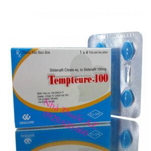 Temptcure 100 thuốc sinh lý nam cách dùng, giá bán, mua ở đâu TỐT?