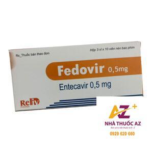 Thuốc Fedovir 0.5mg (Entercavir 0,5mg ) mua ở đâu