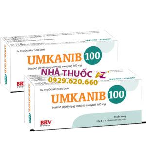 Thuốc Umkanib 100mg – Imatinib 100mg - Giá bán, Mua ở đâu