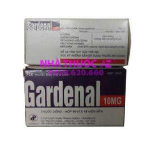 Thuốc Gardenal 10mg - Phenobarbital - Giá bán, Mua ở đâu chính hãng?
