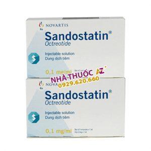 Thuốc Sandostatin 0,1mg/ml - Giá bao nhiêu? Mua ở đâu rẻ nhất 2021?